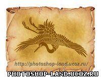 Урок фотошоп – Как добавить изображение на старый пергамент