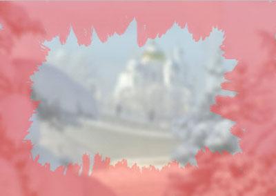 Урок Фотошоп - Морозные узоры на стекле
