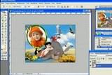 Видеоурок фотошоп - Как вставить фотографию в рамку